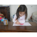 Hand print Ladybird
