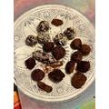We made truffles