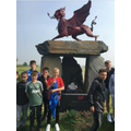Corey visited Welsh memorials in Germany for WW1.