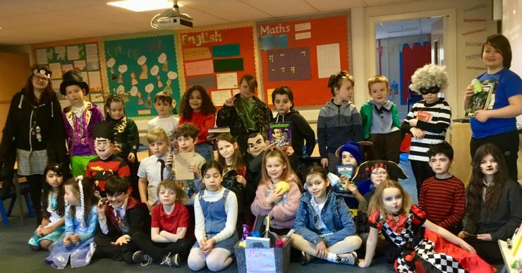 We had a fabulous World Book Day. Look at all of our amazing, creative costumes!