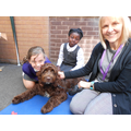 Working with children who are anxious around dogs