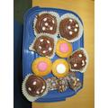 Delicious homemade cupcakes Alex! Yum!