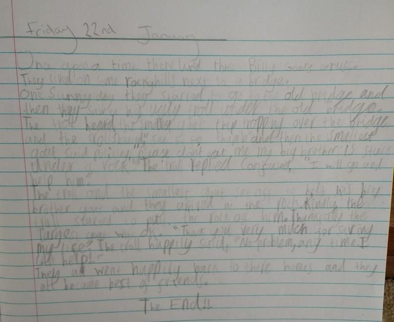Zach's troll story including some wonderful use on inverted commas!