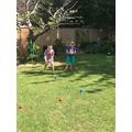 Fun games in the sun!