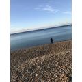 Sunrise on Lyme beach for Junior!