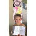 Elliot's incredible home learning!