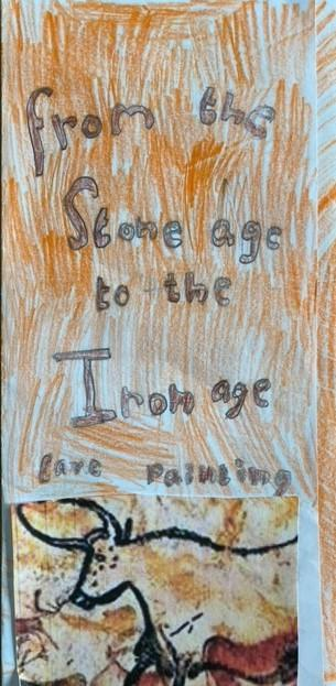 Lydia's wonderful leaflet about the Stone Age!