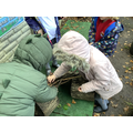 Some children made homes for the other animals
