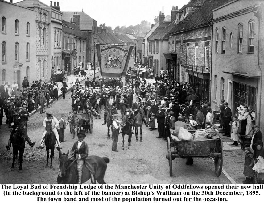 The parade to open Oddfellows Hall