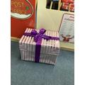 A parcel!? I wonder what is inside?