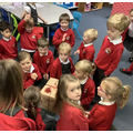 The children were all very excited to find out what was inside!