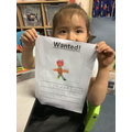 I made a wanted sign to inform others he is missing