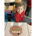 Gruffalo character shape pictures