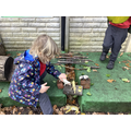 The animals are guarding his home from the Gruffalo