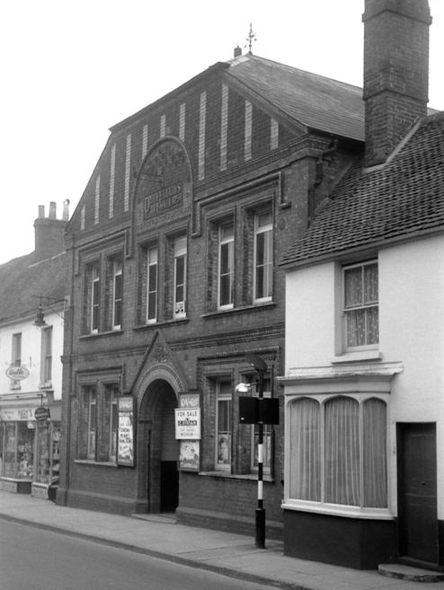Oddfellows Hall. Now the Kings Church