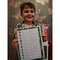 Charlie's brilliant acrostic poem