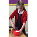 YEAR 4 MIXING GINGER INTO THE CRUMBLE