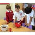 YEAR 4 CUTTING BUTTER FOR THE CRUMBLE