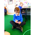 Recording a number sentence to store in work books