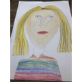 Luca's image of Miss Daverson