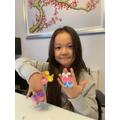 Sophia's colourful creations