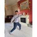 Alfie having a dance party!