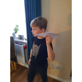 Ethan's paper plane eperiment