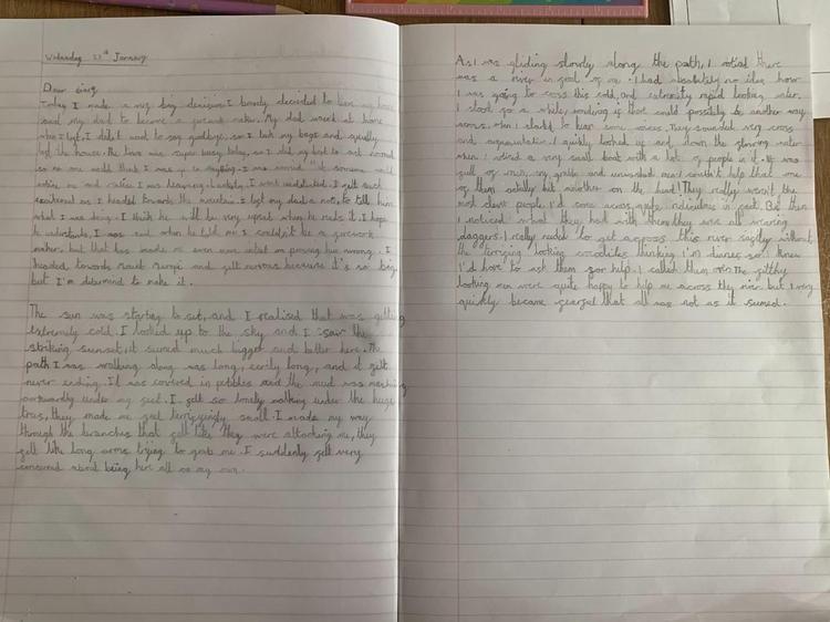 Darcie's diary (Elm)