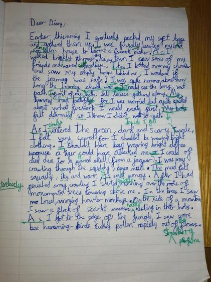 Oscar's diary (Elm)
