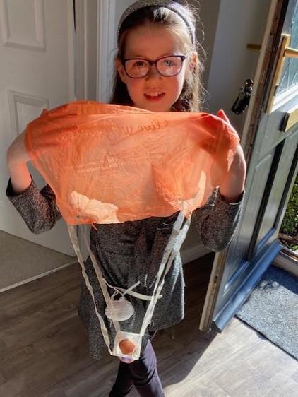 Freya's parachute
