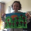 Megan's art project