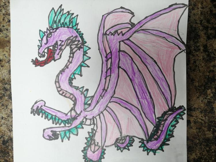 Martha's dragon drawing!