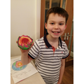 Oscar's great Playdoh Earth