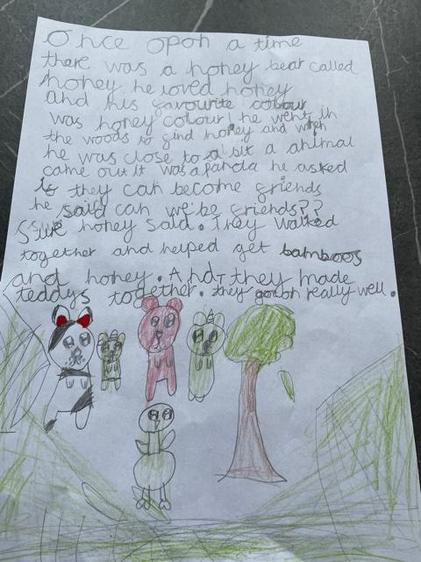 Beautiful writing by Annalese
