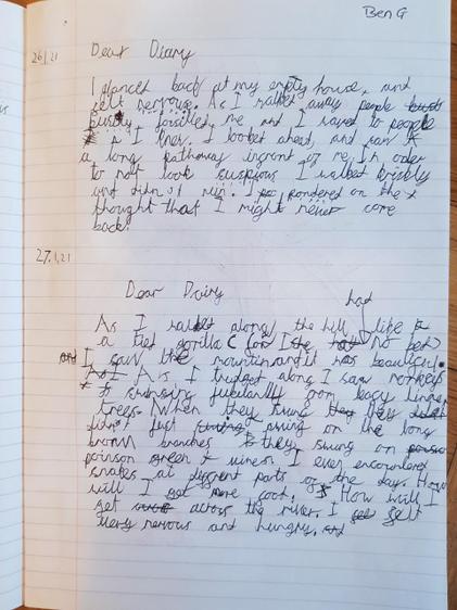 Ben's diary (Lime)