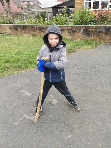 Ben have got all of the equipment for dragon hunting!!!!