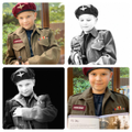 Alex in some old army uniform he inherited