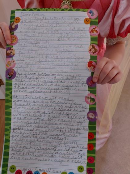 Fantastic writing by Amali