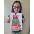 Lauren's lovely birthday picture - thank you!