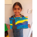 A beautiful Starry Night picture, fab effort!