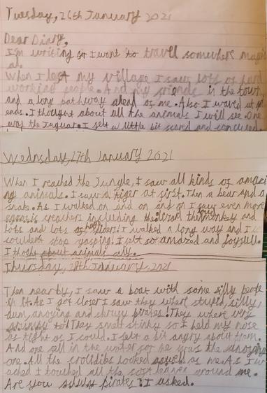 Kieran's diary (Elm)