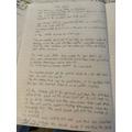 Sophia's great writing
