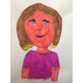 Chloe's picture of Miss Daverson