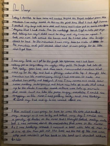 Immy's diary (Elm)
