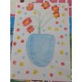 Lauren's Van Gogh inspired art work