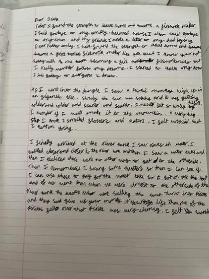 Sophia's diary (Lime)
