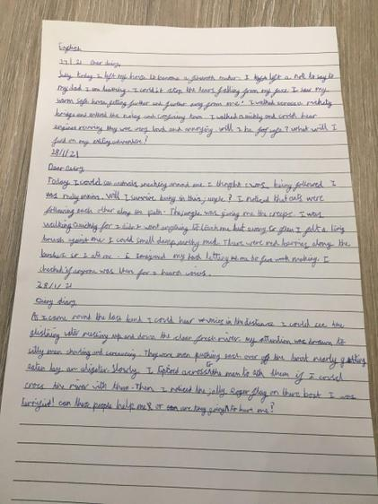 Freya S' diary (Lime)