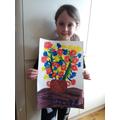 Van Gogh flowers by Millie