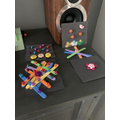 Darcey's colourful creations