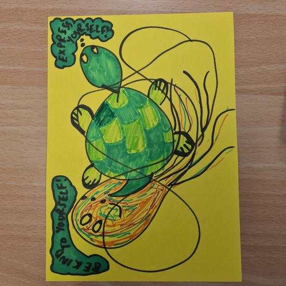 Miss Sayce's squiggle!